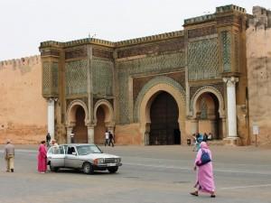 Bab Mansour Meknes Königsstädte Marokko