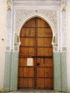 Holztor in der Medina