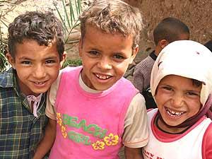 Toubkal Berber Kinder Marokko Reise
