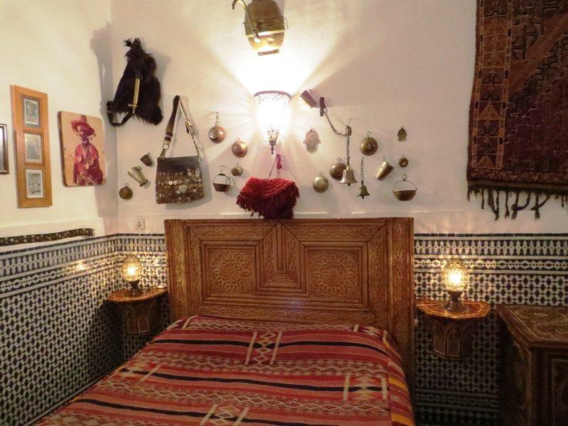 Königsstädte Marokko Rundreise Riad-Zimmer Fes