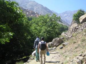 Wandern im Atlasgebirge Marokko