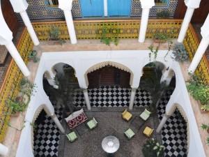 Innenhöfe der Riads
