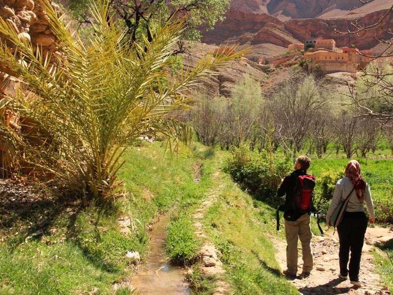 Warum nach Marokko reisen? Wanderung im Dadestal