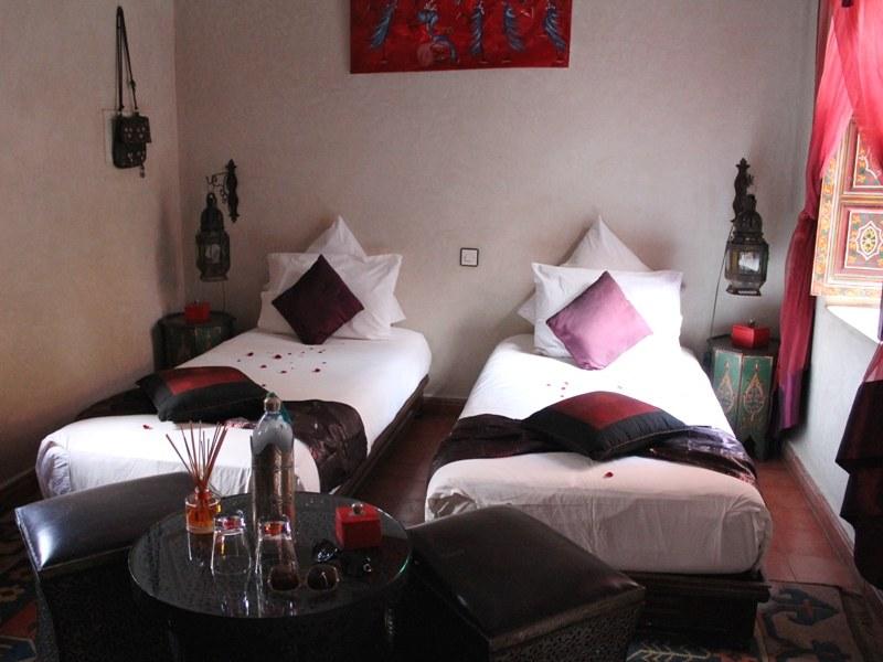 Unterkunft in Marrakesch bei Marokko Rundreise in Königsstädte