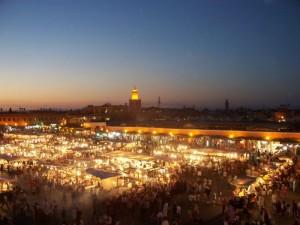 Marokko Rundreise Djemaa el Fna
