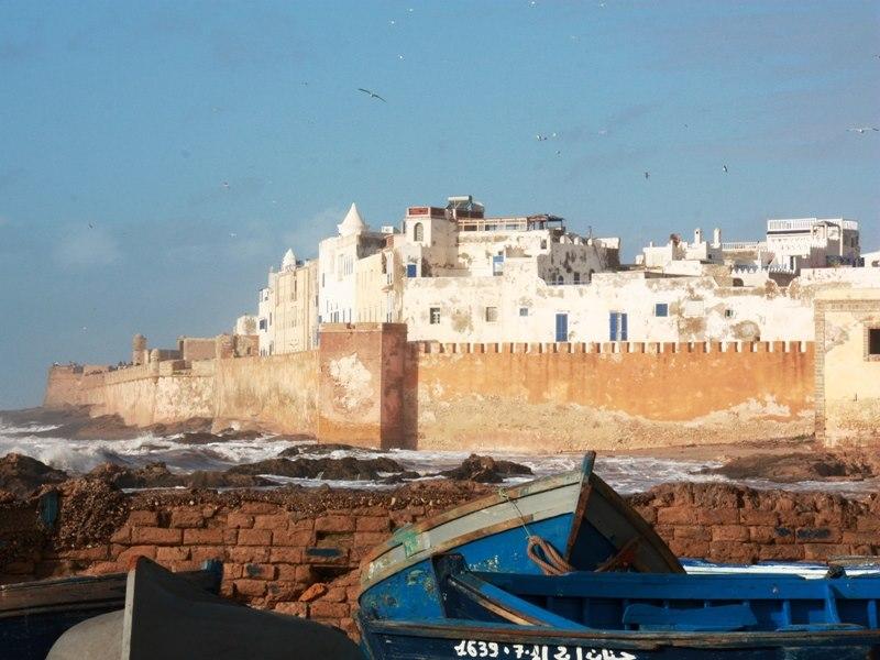 weiße-Stadt-Essaouira