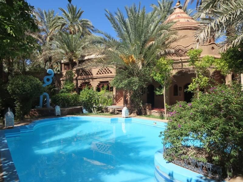 Eine Woche - Hotel mit Pool in Zagora