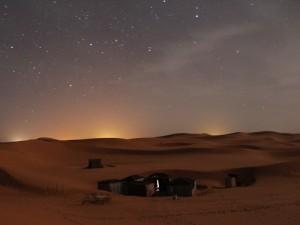 Der Sternenhimmel in der Wüste