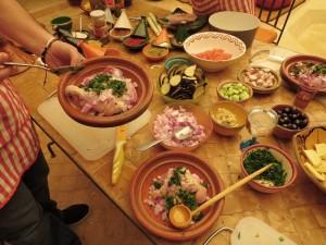 Kochkurs in der Königsstadt Marrakesch