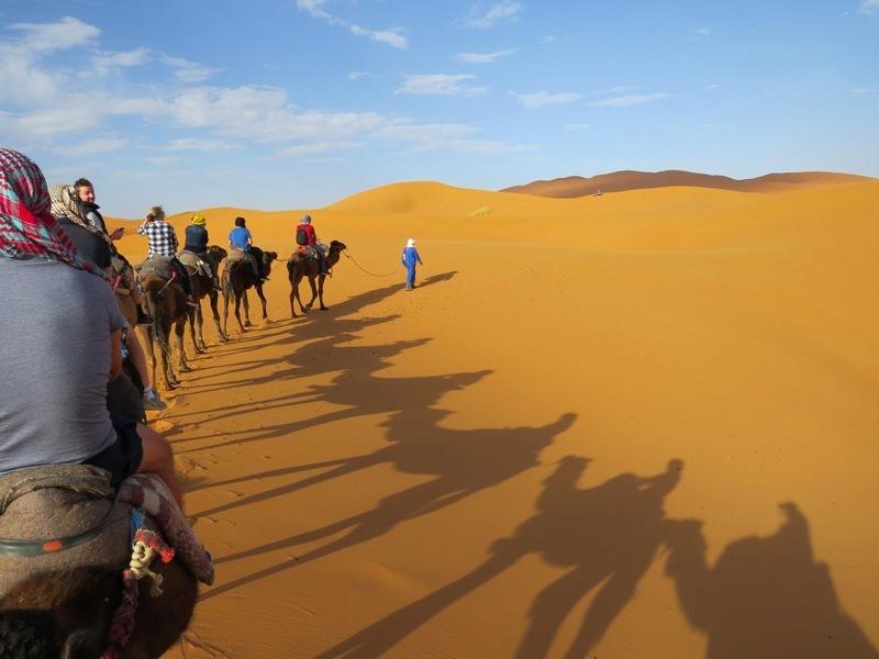 Marokko Rundreise - Wüstentour-Erg-Chebbi-Merzouga