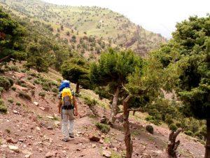 Wandern Marokko - Atlasgebirge bei Imlil