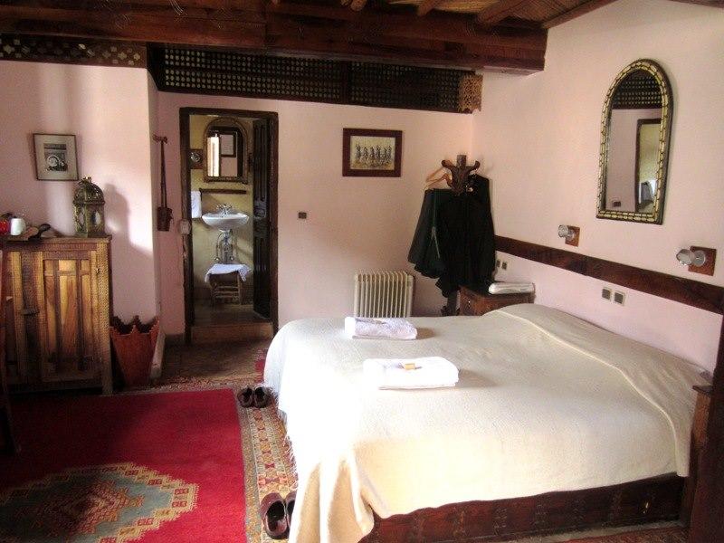 Schlafzimmer in Unterkunft in Imlil in Marokko