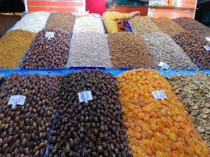 Marktstände in Marokko