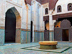 Souks Meknes Marokko