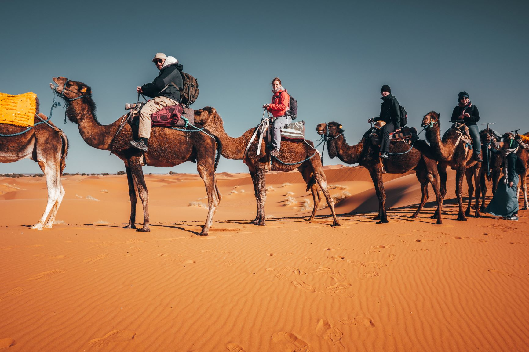 Marokko Reisen: Endlose Wüste