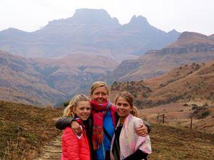 Drakensberge mit der Familie