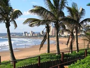 Strandpromenade in Durban