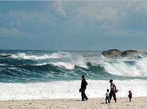 Strand von Camps Bay bei Kapstadt