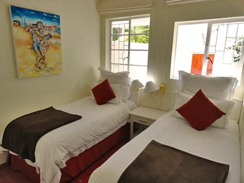 Familienzimmer der Unterkunft in Kapstadt