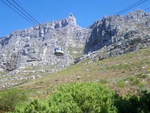 Südafrika Rundreise mit Kindern: Tafelberg Seilbahn