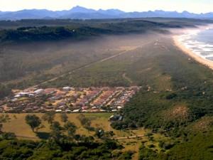 Plettenberg Bay Resort von Oben