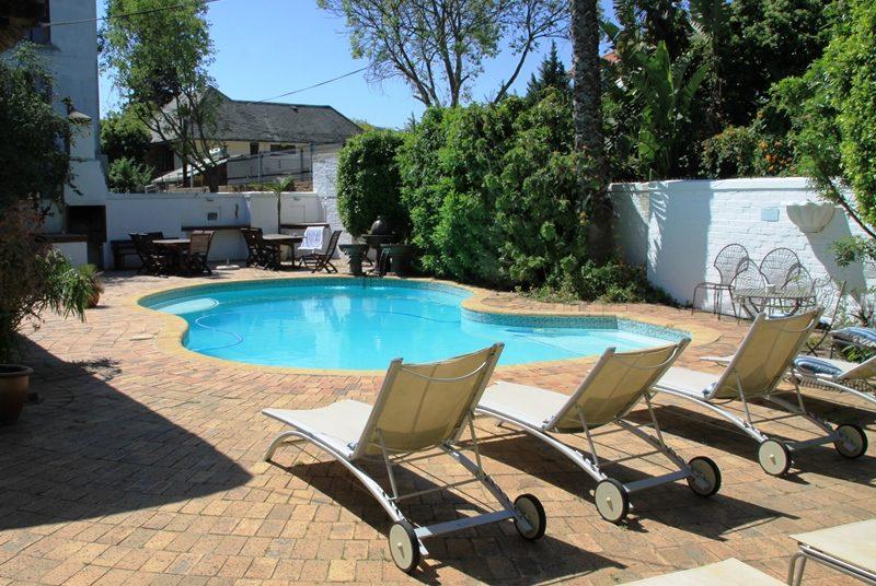 Pool Stellenbosch Hotel