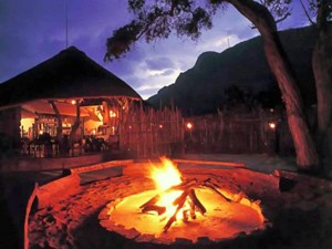 Entabeni Game Reserve: Lagerfeuer in Waterberg