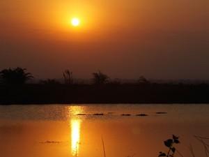 Südafrika Gruppenreise: Sonnenuntergang in Südafrika