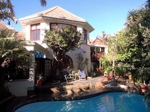 Südafrika Garden Route: Guesthouse in Kapstadt