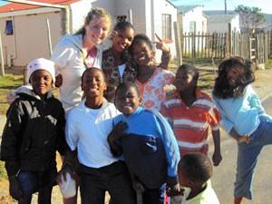 3 Wochen Südafrika: Südafrikanische Kinder im Township von Knysna