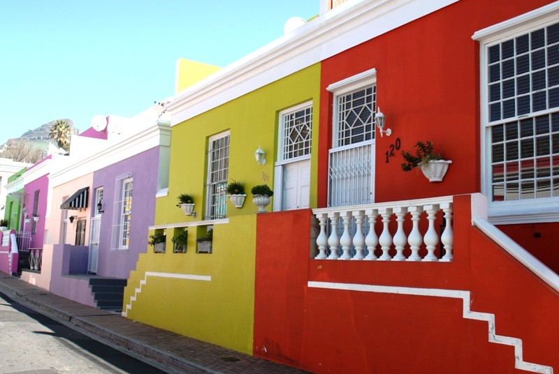 Boo Kaap Viertel in Kapstadt