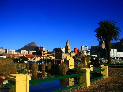 Kapstadt Blick vom Castle of Good Hope
