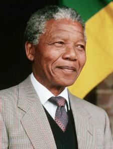 Ein Bild von Nelson Mandela