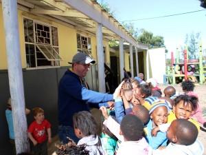 Einheimische Kinder im Township Knysna