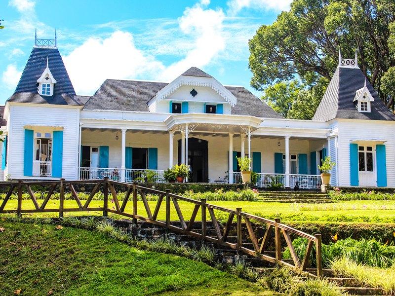 Kolonialhäuser Mauritius