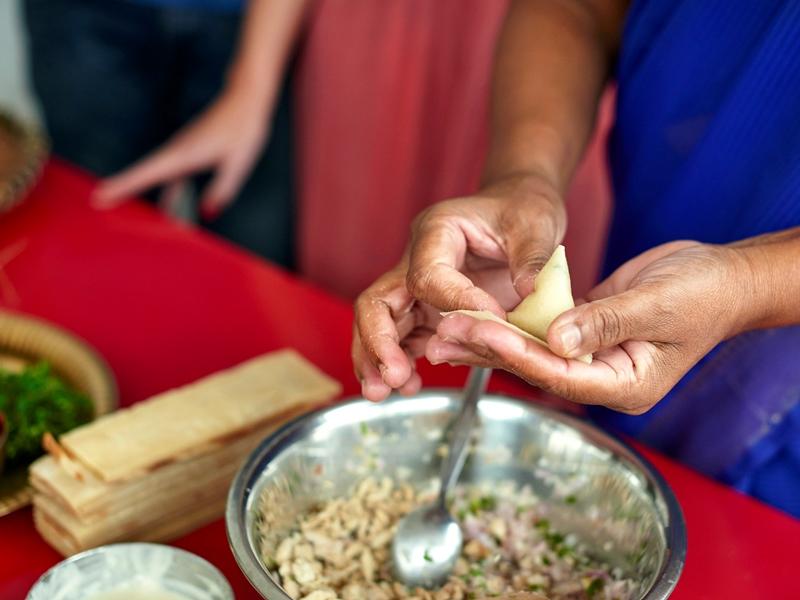 Kochen auf Mauritius