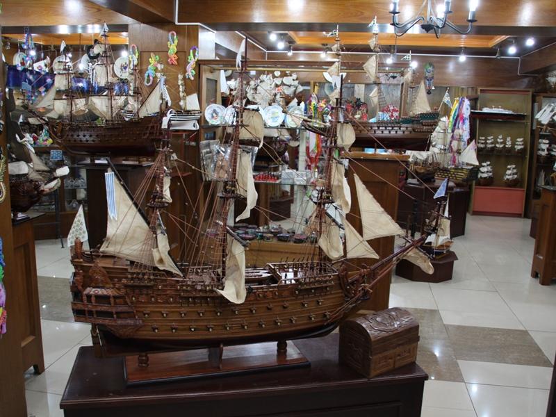 Schiffsmuseum auf Mauritius