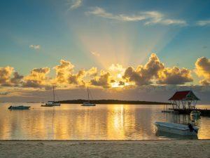 Budget Mauritius: Sonnenuntergang Mauritius