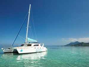 4 Sterne Hotel Mauritius: Katamaran auf Mauritius