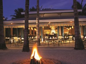 Cafe im 5 Sterne Hotel Mauritius
