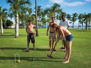 Croquet im 5 Sterne Hotel Mauritius