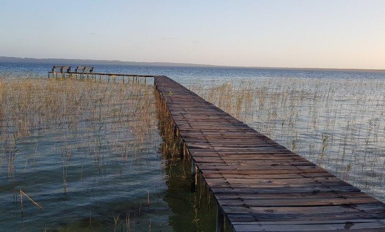 Steg im Kosi Lake