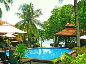 Hotelpool auf Redang - Malaysia Highlights