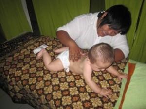 Babymassage in Malaysia