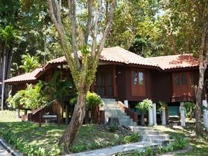 Bungalow auf Sibu Island