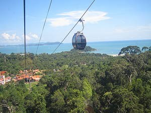 Cable Car auf Langkawi