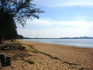 Malaysia Rundreise: Strand in Cherating