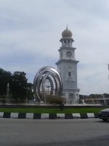 Clocktower in Georgetown in Penang