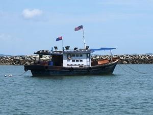 Fährüberfahrt nach Sibu Island