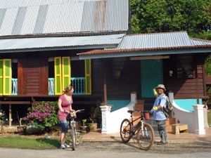 Fahrradtour durch Melaka